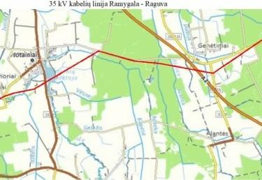 35 kV oro linijos Ramygala - Raguva rekonstravimas