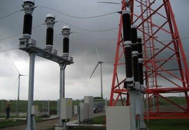 5 vnt. Vėjo energijos jėgainės po 2 MW. Tauragės r. sav., Lauksargių sen., Griežpelkių II k., Kamščių k.