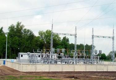 110/6 kV TP Sovietsk–2 nauja statyba su 110 kV OL užvedimais