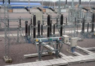 Rževskaja 330/110 kV TP rekonstrukcija.