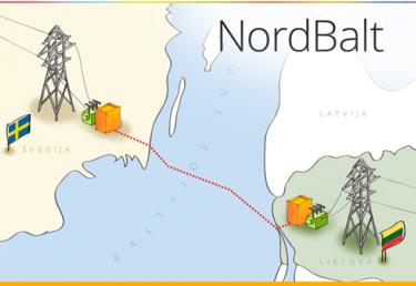 """""""Nord Balt"""" jungties statyba."""
